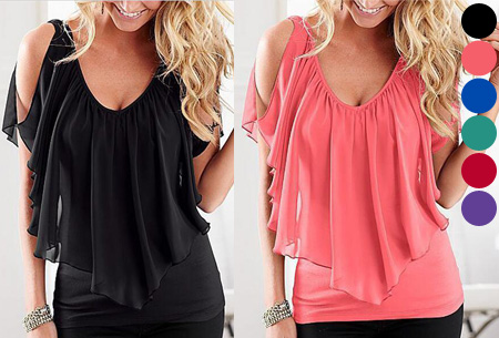 Lovely batwing top nu slechts €9,95!