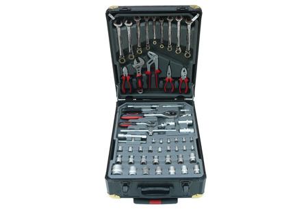 Swiss Kraft 326-delige gereedschapstrolley | Al het gereedschap dat je nodig hebt!
