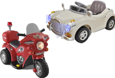Speelgoed auto's en motoren