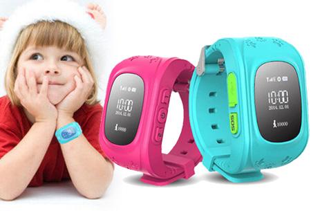 GPS tracker kinderhorloge nu slechts €29,95