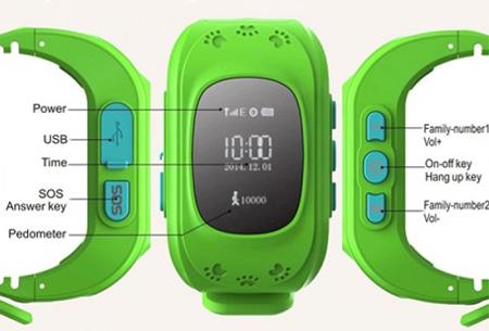 GPS tracker kinderhorloge | Verlies je kind niet uit het oog