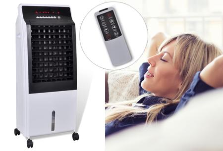 Mobiele aircooler | Airco, luchtreiniger, luchtbevochtiger en ventilator in één!
