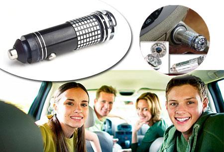 Ionisator verfrisser - Frisse lucht in de auto t.w.v. €19,95 nu GRATIS!