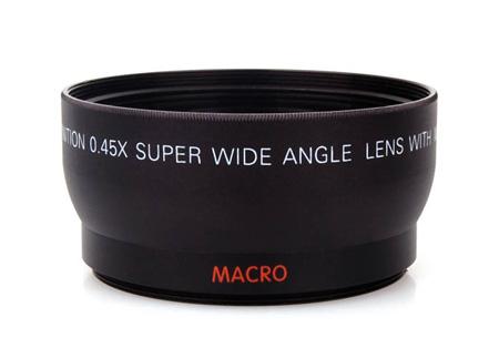 Groothoek- en macrolens voor o.a. Canon of Nikon | 52 mm of 58 mm