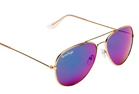 65aa96a46b8fe9 Spaceflight Aviator zonnebril met UV400-filter nu GRATIS! Incl. doekje en  brillenkoker Paars