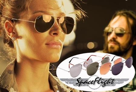Spaceflight Aviator zonnebril met UV400-filter nu GRATIS!