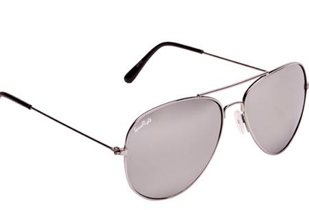 1e935616d571d3 Spaceflight Aviator zonnebril met UV400-filter nu GRATIS! Incl. doekje en  brillenkoker Spiegel