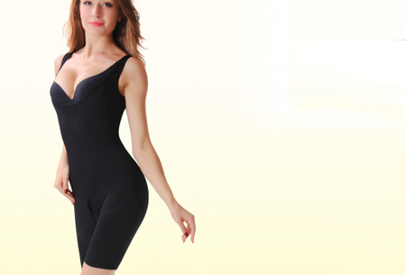 Body Slim Suit | strak en slank in je kleding zonder inspanning Zwart