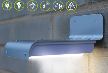 Licht En Bewegingssensor : Eco solar led light nu slechts u20ac14 95!