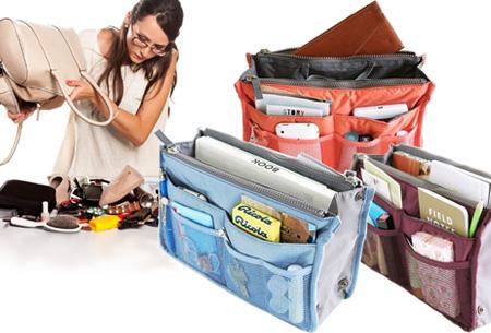 Nooit meer chaos in je tas met de Bag-in-Bag