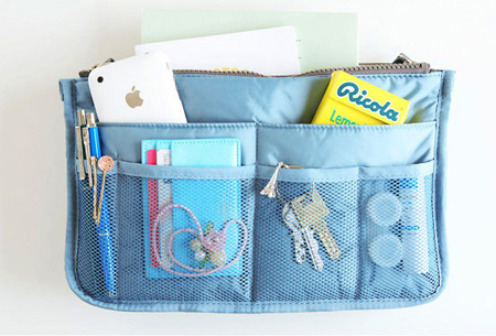 Bag-in-Bag tas Blauw