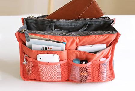 Bag-in-Bag tas | Nooit meer chaos in je tas!  Oranje