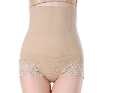 Lace corrigerend shapewear ondergoed - Huidskleur - Maat S/M