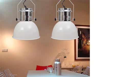 Moderne metalen hanglampen - set van 2 stuks | Design voor een spotprijs!