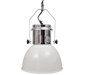Moderne metalen hanglampen - set van 2 stuks | Design voor een spotprijs! industrieel wit