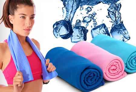 Cooling handdoek nu 1+1 GRATIS voor slechts €5,95!