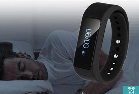 Bluetooth 4.0 Smart Activity tracker nu slechts €29,95 | Monitor je beweging, slaap en ontvang pushberichten!