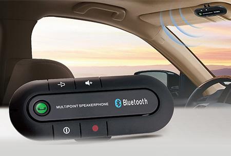 Universele Bluetooth carkit voor handsfree bellen