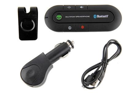 Universele Bluetooth carkit | Voor handsfree bellen