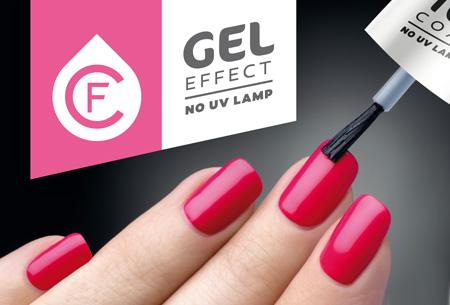 Gel effect nagellak in 15 verschillende kleuren