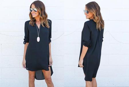 Stylish blouse | Een stijlvolle musthave voor elke dames garderobe! Donkerblauw