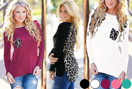 Leopard shirt nu slechts €11,95!