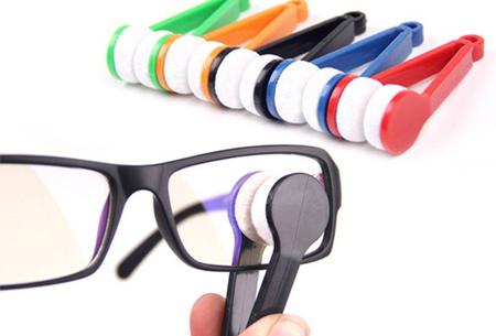 Brillenpoetsers set van 2 stuks nu slechts €4,95!