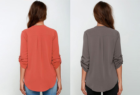 Classy blouse | Stijlvolle wannahave voor elk figuur!