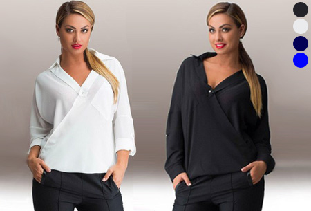 Chique blouse nu met 66% korting