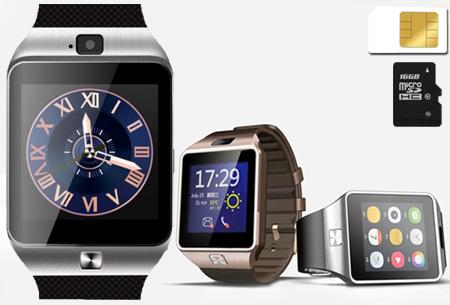 Bluetooth smartwatch nu €39,95