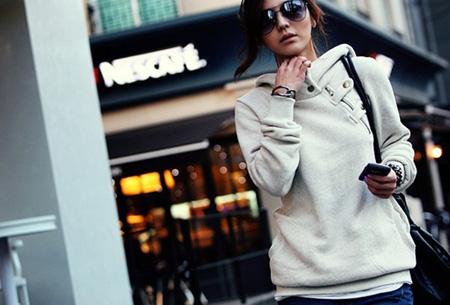 Dames sweater | Heerlijk warme, comfortabele hoodie