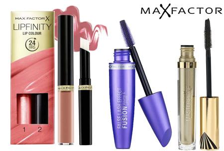 Max Factor mascara's en Lipfinity al vanaf €5,95