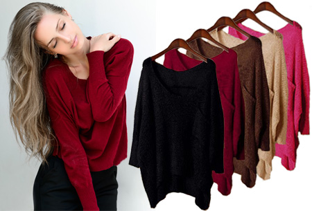 Casual sweater nu slechts €12,95!
