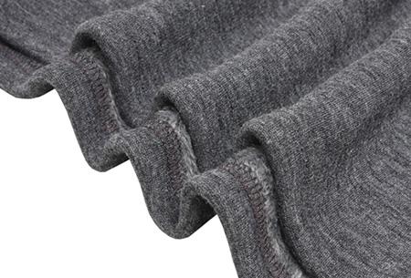 Tuniek met fleece binnenvoering | Heerlijk warme & fashionable winter musthave!