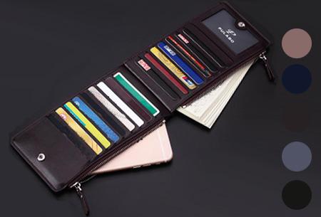 Multifunctionele portemonnee