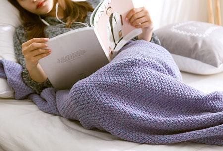 Zeemeermin deken | Keuze uit 2 maten en 5 kleuren