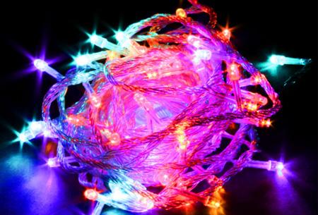 IJspegel sfeerverlichting met 96 of 216 LED's | Super gezellig én energiezuinig Multicolor
