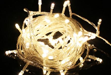 IJspegel sfeerverlichting met 96 of 216 LED's | Super gezellig én energiezuinig Warm wit