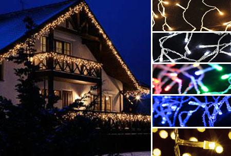 IJspegel sfeerverlichting met 96 of 216 LED's