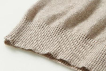 Cashmere blend trui | Zijdezachte kwaliteit met echte cashmere voor ultiem draagcomfort