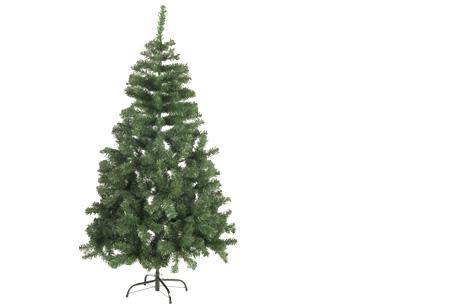 Kunstkerstboom met of zonder sneeuw   Alle maten nu slechts 14,99 + GRATIS kerst muursticker! Zonder sneeuw