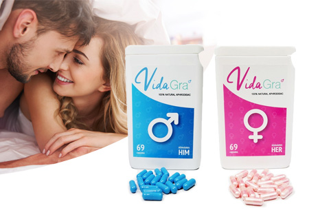 Lustopwekkende Vidagra capsules