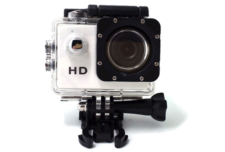 Sport HD 1080P Action camera | Voor al je actievideo's en -foto's  Wit