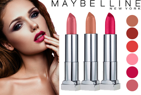 Maybelline Colour Sensational Lipstick - set van 2 stuks