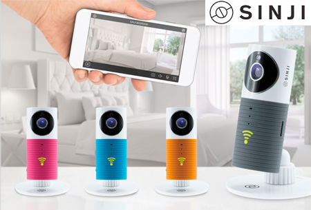 Sinji Smart Wifi security camera met night vision | Houd alles in gaten via je telefoon