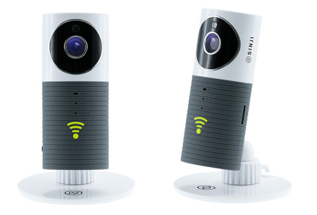 Sinji Smart Wifi security camera met night vision | Houd alles in gaten via je telefoon grijs