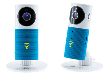 Sinji Smart Wifi security camera met night vision | Houd alles in gaten via je telefoon blauw