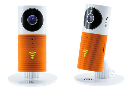 Sinji Smart Wifi security camera met night vision | Houd alles in gaten via je telefoon oranje