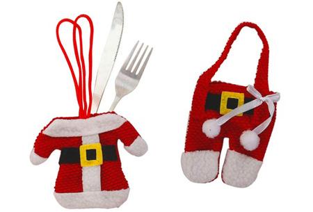 Kerst bestekhouders & fleshouders | Geef je kerstdiner een extra feestelijk tintje bestekhouders