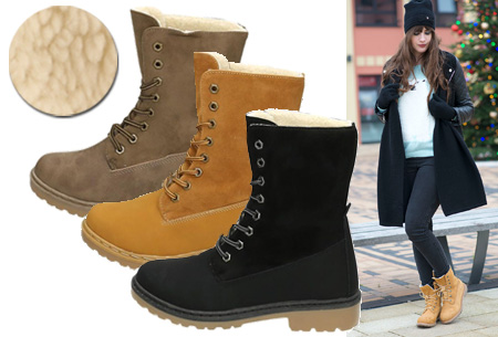Gevoerde boots